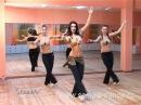 Samira-dance - Основная база. 2 уровень (Samira's school. Fundamential base. Level 2)