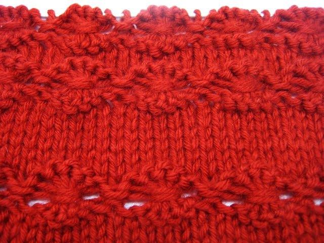 Вязание спицами. Узор Цветок Flowers in a Row » Freewka.com - Смотреть онлайн в хорощем качестве