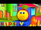 Bob The Train  Alphabet Adventure  Children English Learning Videos  Songs For Kids To Sing