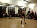 Jenyne Butterfly- incredible pole performance @ Donna Gant's 111209