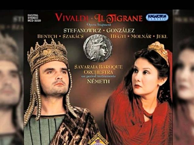 06 - Antonio Vivaldi - Il Tigrane, RV 740 Aria. Squarciami pare il seno (Cleopatra)