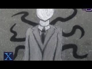 Slender man Первые жертвы тонкого человека в соцсетях