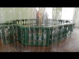Фонтан в бассейне мужская баня.Петергоф.Банный комплекс.