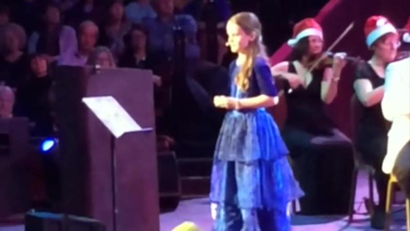 Amira Willighagen - _O Holy Night_ - Royal Albert Hall - London, 15 December 2014
