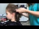 Красивая прическа на короткие волосы за 5 минут. Цветы в волосах. | ♥ Lovely Kids