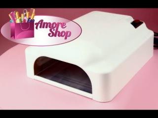 Уф лампа для ногтей 3610 (индукционная уф лампа для геля и гель-лака). Обзор от AmoreShop