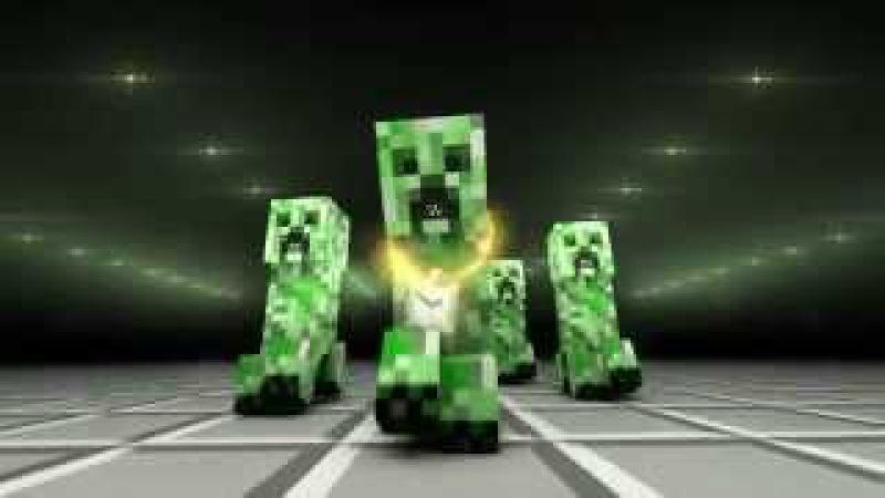 Крипер Рэп ( Песня про Minecraft) CREEPER RAP Русский перевод!