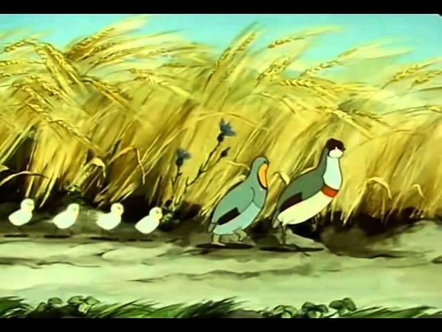 Оранжевое горлышко 1954 Детские мультфильмы