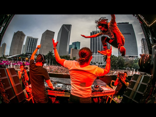 Dimitri Vegas, Steve Aoki Like Mike's 3 Are Legend - Live At Ultra 2015 FULL HD SET