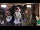 Повседневная жизнь викингов в деревне Сваргас Выборг.