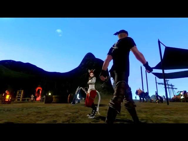 Танец Чёрный лебедь ArcheAge