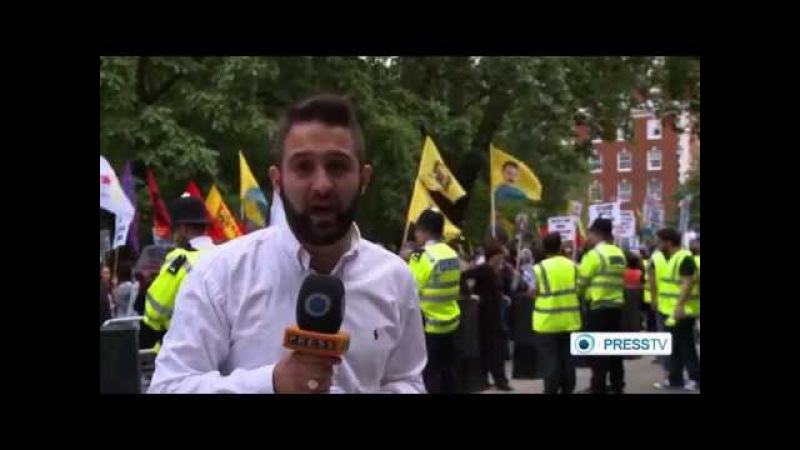 Breaking ISIS News : London Protests ISIS ISIL IS Al Qaeda , US/Saudi's Funded Them