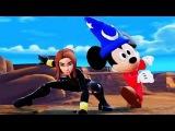 Микки Маус и Черная Вдова Дисней Принцесса Рапунцель Мультфильмы 2015