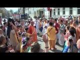 Harinam sankirtan Russia Indradyumna SwamiХаринама с ЕС Индрадьюмна Свами (фрагмент) 04.05.2015