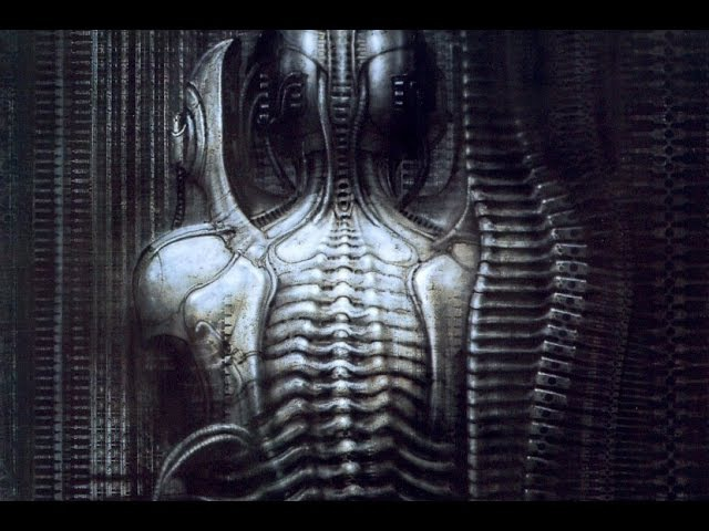 H.R Giger - Art in Motion