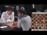 Карлсен - Брусон Батиста, Ферзевый гамбит (ЧМ по быстрым шахматам (Берлин, 2015) 4- тур - Сергей Шипов))