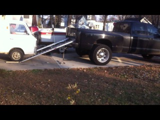 Loading a Mini Truck into a 1 ton