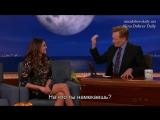 Nina Dobrev at Conan O'Brien 11.05.2015 (Rus sub)