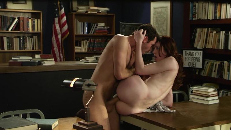 Секс двух девушек в библиотеке фото 638-982