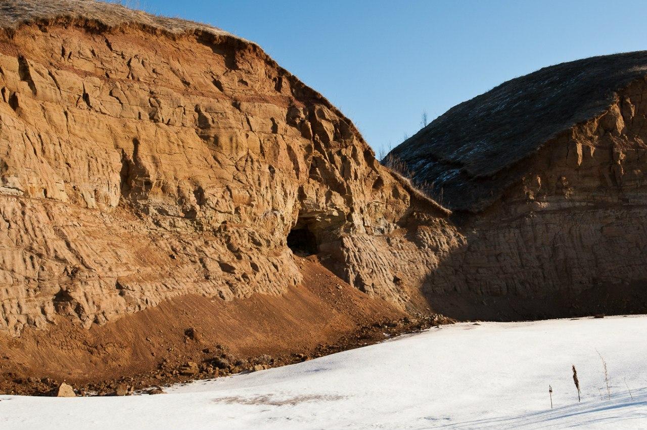 Старинный медный рудник