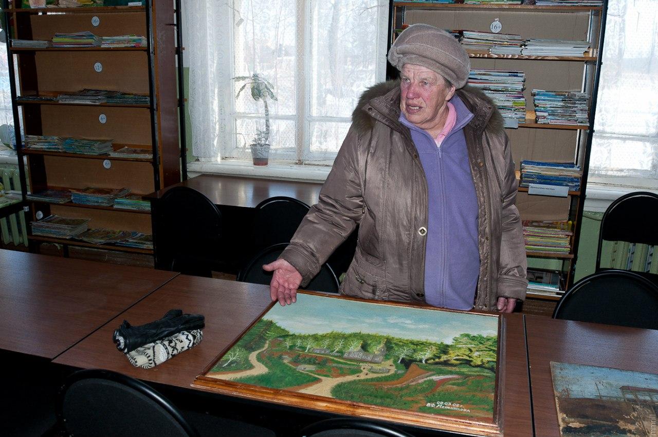 Валентина Федоровна Меньшикова и её картины