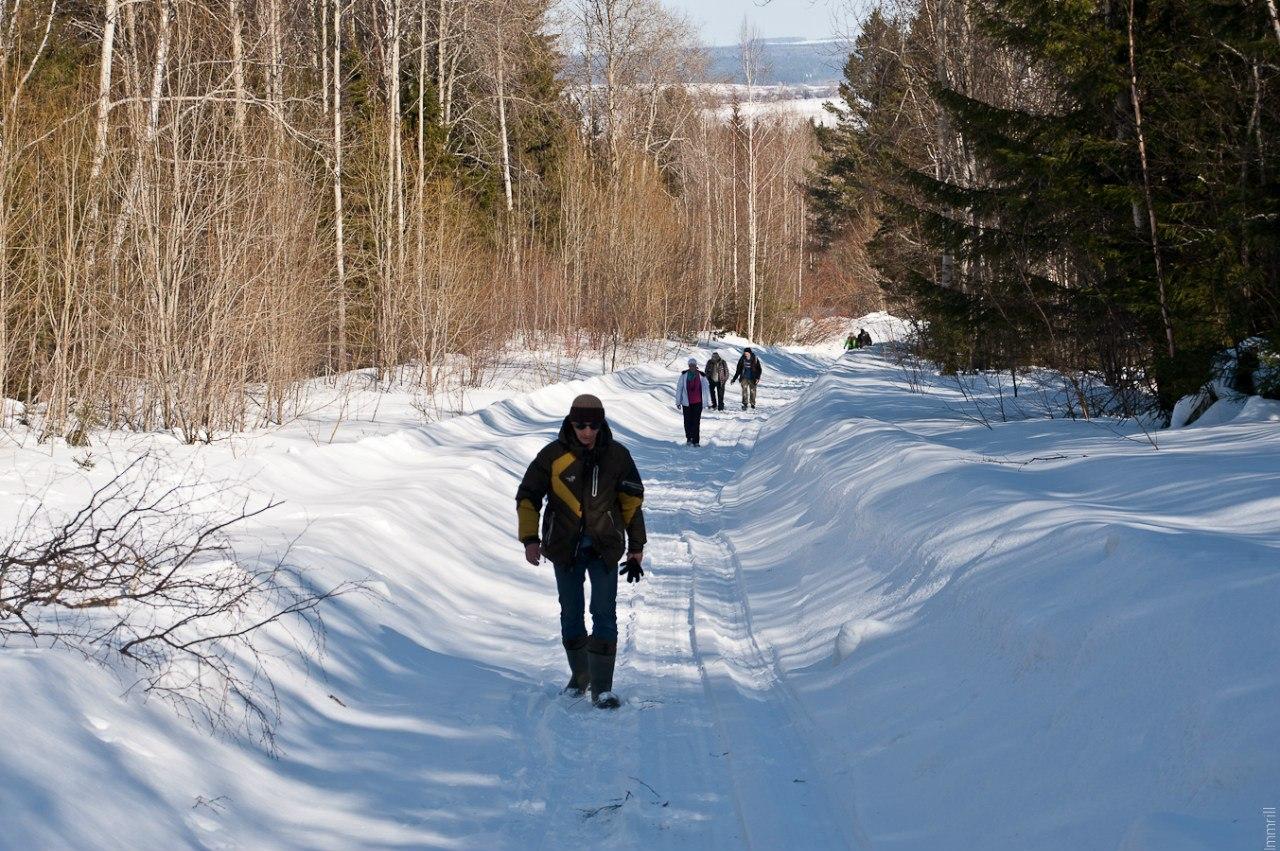 Путь на гору Благодать