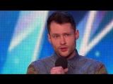 Golden boy Calum Scott hits the right note - Audition Week 1 - Britains Got Talent 2015
