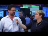Cisco  Лорен  с Джо Oнисик на VMworld 2014.