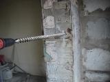Сверление натурального камня перфоратором sds max HILTI TE70 ATC/AVR буром Makita Р-46056 (40*1200/1320мм)