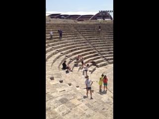Большой древнегреческий театр!