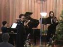 Mozart, Kegelstatt trio Mov I, Indigo trio,