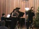 Mozart, Kegelstatt trio Mov III, Indigo trio,