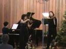 Mozart, Kegelstatt trio Mov II, Indigo trio,