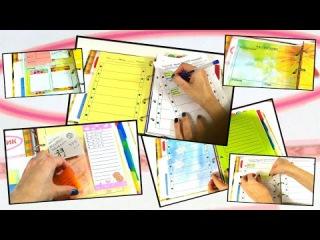 DIY Ежедневник-органайзер 2015! Планирование дел на неделю! Списки To do!