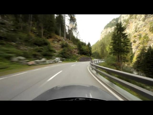 Поездка в Альпы на BMW 335 | Для любителей помедитировать