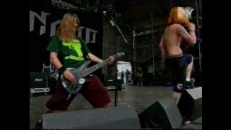 Fear Factory - Self Bias Resistor Dynamo 95 Interview Part (2/2)