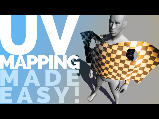 UV MAPPING MADE EASY! UV unwrapping tutorial for Maya 2015 2016 LT 2016