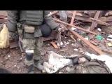 18+ Последствия штурма Углегорска. 04.02.2015. Новороссия новости.
