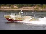 Серийные быстроходные патрульные катера Раптор проходят заводские ходовые испытания
