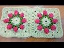 Соединение квадратов Connect guares Crochet