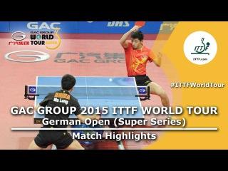 German Open 2015: MA Long vs ZHANG Jike (FINAL)