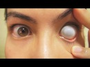 How to: Insert And Remove Cataract Sclera Contact Lens (Fxeyes)