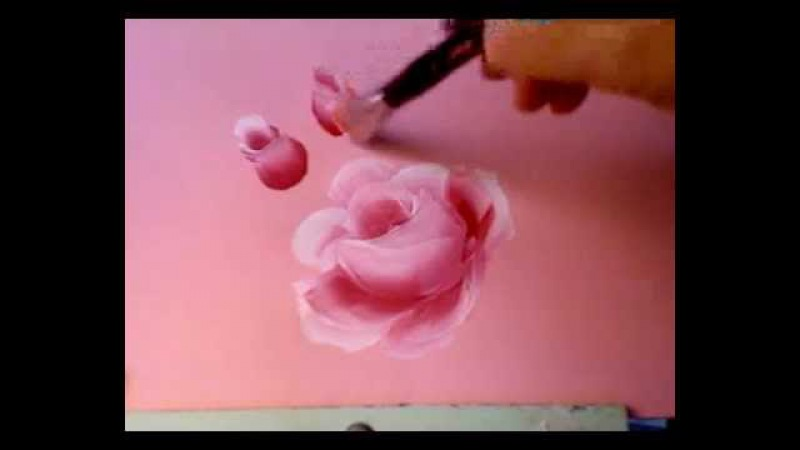 How to Paint Roses with an Angular Shader demo by Marjorie Harris Clark