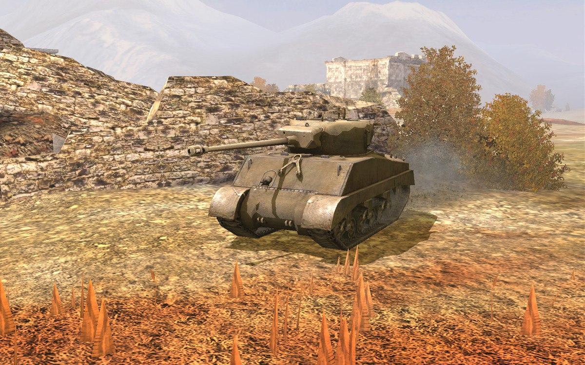 New WoT Blitz tanks in 1 11: Sherman Jumbo and Churchill