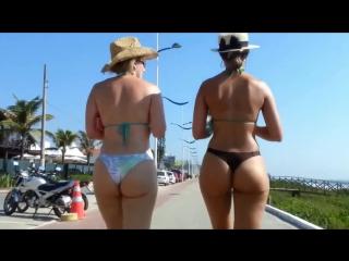 Candid beach-brazilian girls