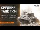 Лекция Алексея Макарова Средний танк Т-34. Развитие броневой защиты в 1939-1943 гг.