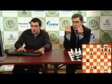 Tal Memorial, 2011. Round 7. Vassily Ivanchuk commenting on his win against Hikaru Nakamura
