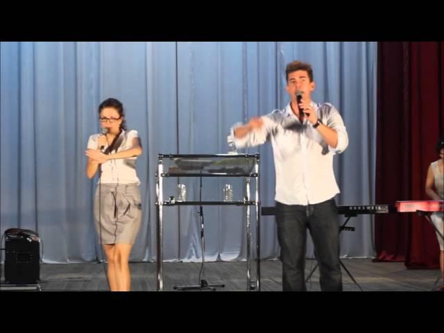 Дэвид Херцог Измерение славы - Павлоград David Herzog preaching in Pavlograd, Ukraine