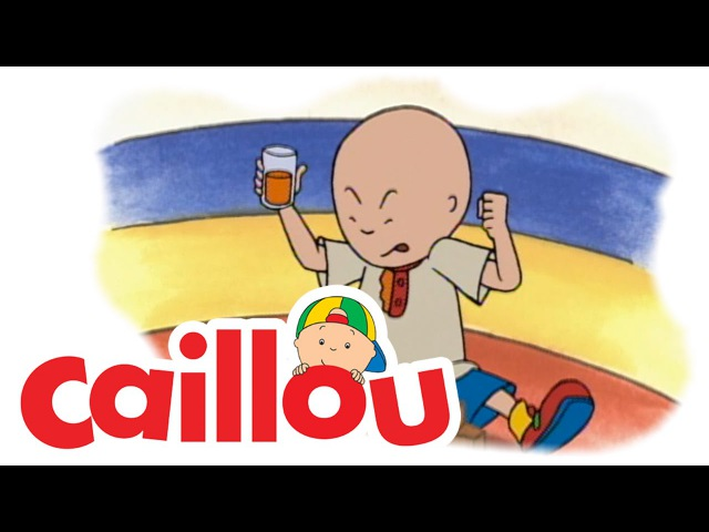 Caillou - Caillou at Daycare (S01E07) | Cartoon for Kids