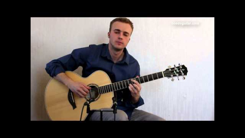 Depeche Mode - Enjoy the silence ( guitar cover by Alexey Nosov )